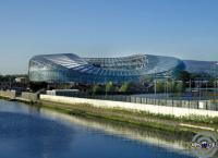 Стадион готов к матчу